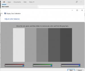 Cách chỉnh màu màn hình laptop
