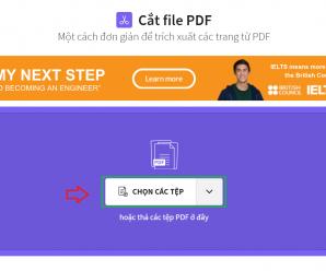 Hướng dẫn cách gộp file pdf và tách file pdf