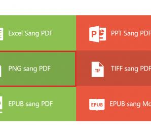 Hướng dẫn chuyển từ pdf sang ảnh và ngược lại